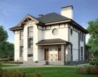 Проект дома из газобетона U-183-1P. 183.3 м²