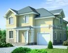 Проект бетонного дома 53-75. 186.4 м²