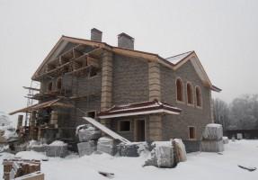 Дом построенный нами в КП Бежин луг.