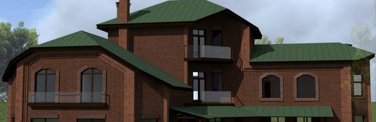 Дом в КП «Середниково», Московская область, Пятницкое шоссе.