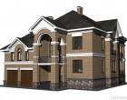 Дом построенный нами в котеджном посёлке «Усадьба Жедочи»