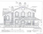 Проект двухэтажного кирпичного дома 1