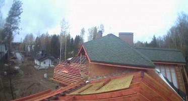 Строительство дома в котеджном посёлке Середниково